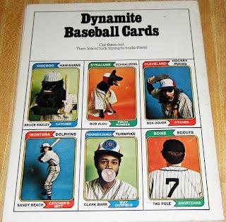 Marks Ephemera Topps Cards In Dynamite Magazine
