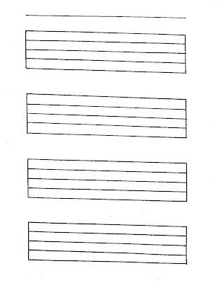 musical staff paper pdf