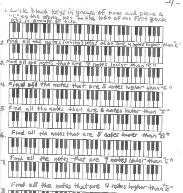 Miss Jacobson's Music: THEORY: MUSICAL ALPHABET GRAPH