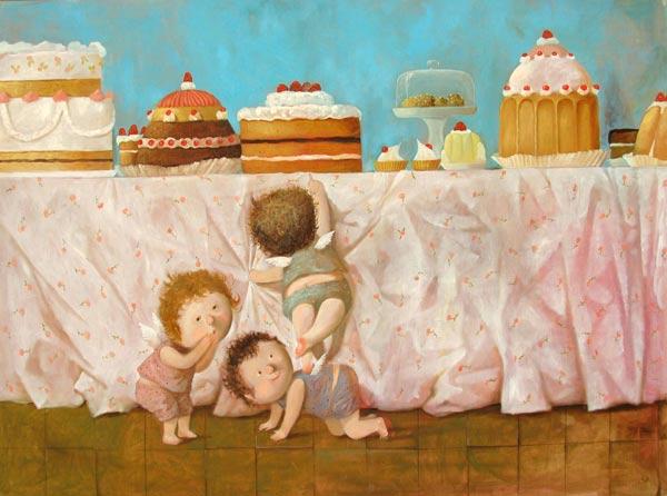 Evgenija Gapchinskaja - pintora e ilustradora