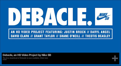 "DOWNLOAD THE FREE NIKE SB HD PROJECT ""DEBACLE."" 
