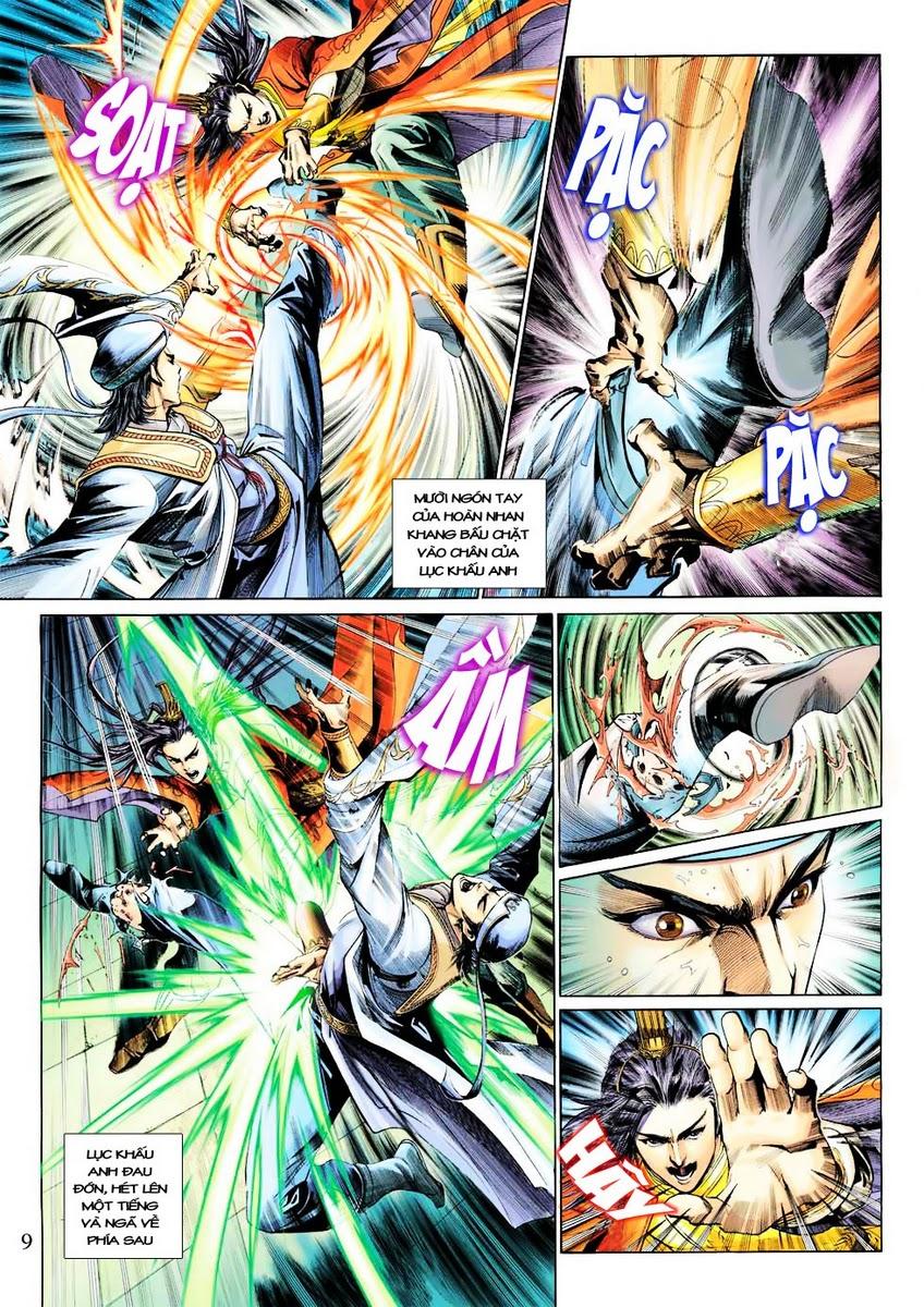 Anh Hùng Xạ Điêu anh hùng xạ đêu chap 28 trang 9
