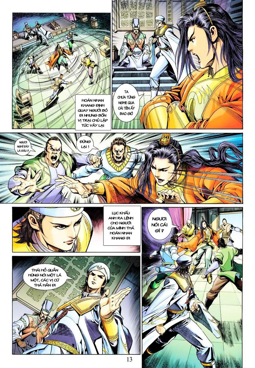Anh Hùng Xạ Điêu anh hùng xạ đêu chap 28 trang 13