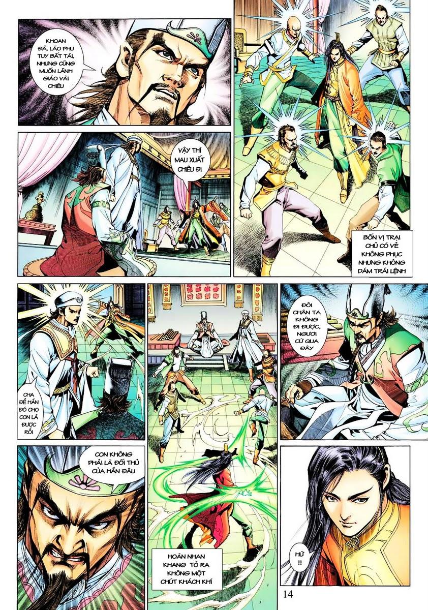 Anh Hùng Xạ Điêu anh hùng xạ đêu chap 28 trang 14