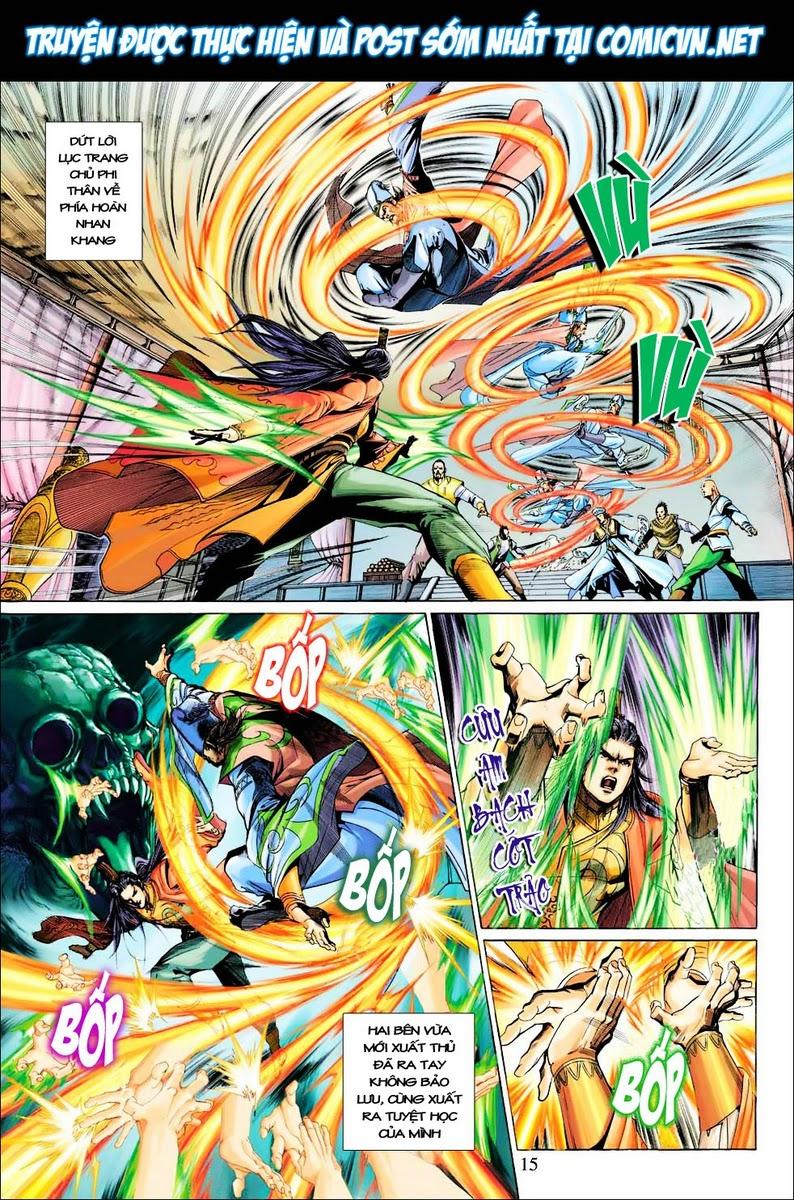 Anh Hùng Xạ Điêu anh hùng xạ đêu chap 28 trang 15