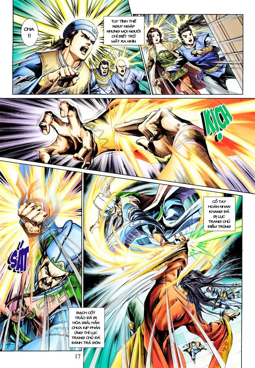 Anh Hùng Xạ Điêu anh hùng xạ đêu chap 28 trang 17