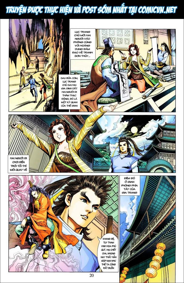 Anh Hùng Xạ Điêu anh hùng xạ đêu chap 28 trang 20