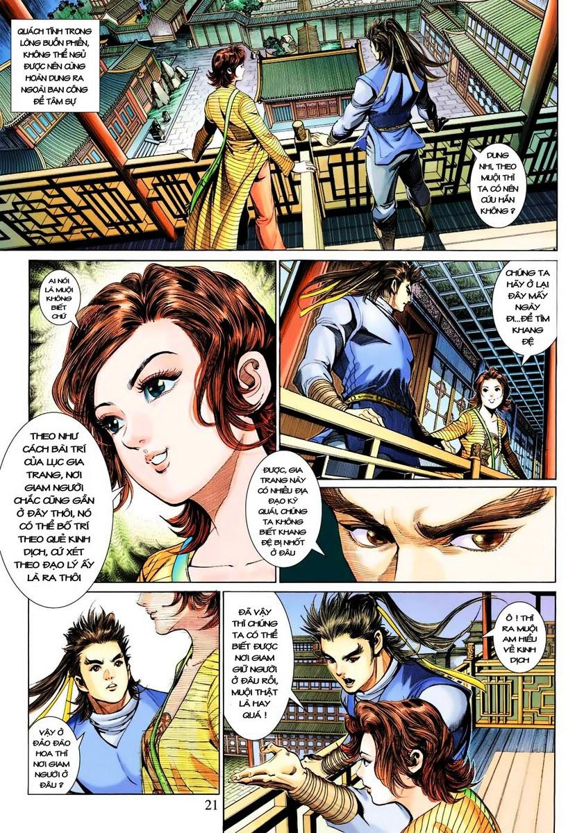 Anh Hùng Xạ Điêu anh hùng xạ đêu chap 28 trang 21
