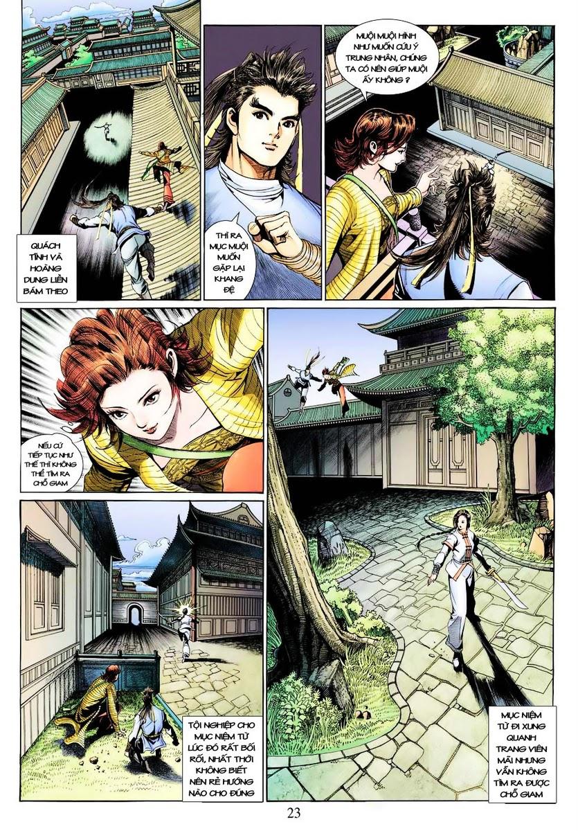 Anh Hùng Xạ Điêu anh hùng xạ đêu chap 28 trang 23