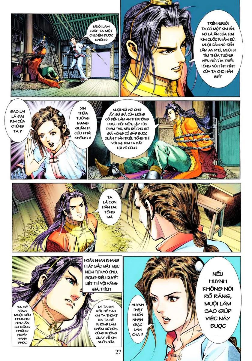 Anh Hùng Xạ Điêu anh hùng xạ đêu chap 28 trang 27