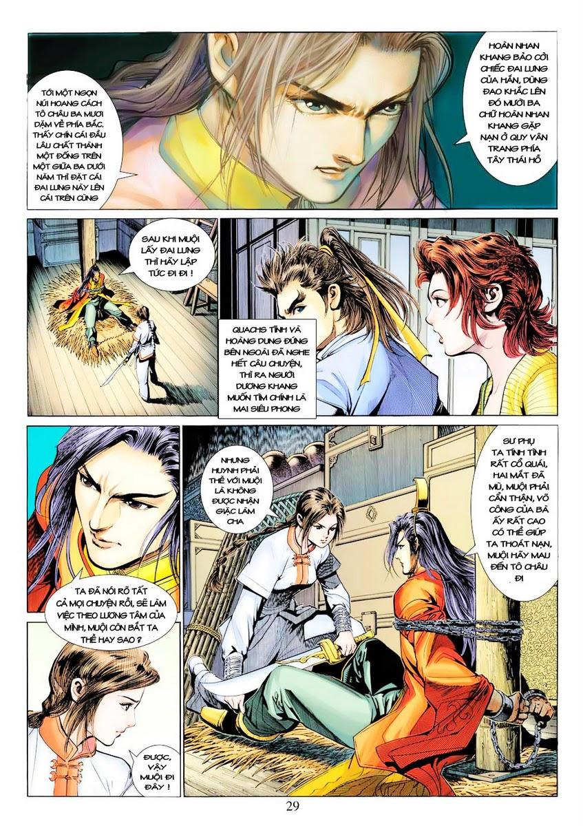 Anh Hùng Xạ Điêu anh hùng xạ đêu chap 28 trang 29