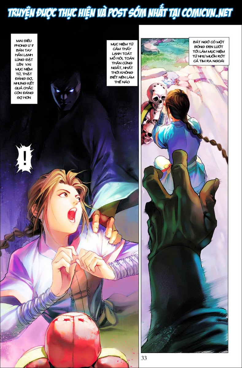 Anh Hùng Xạ Điêu anh hùng xạ đêu chap 28 trang 33