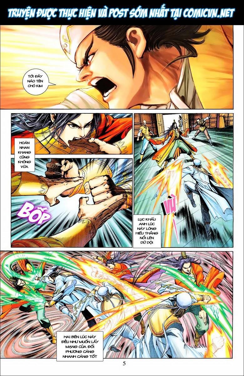 Anh Hùng Xạ Điêu anh hùng xạ đêu chap 28 trang 5