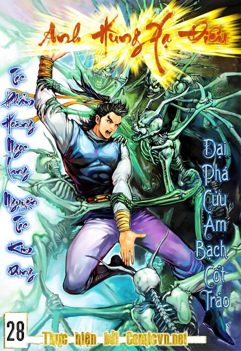 Anh Hùng Xạ Điêu anh hùng xạ đêu chap 28 trang 1
