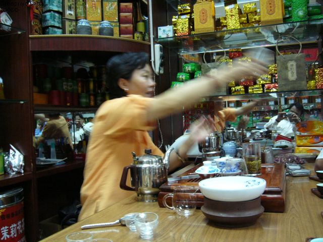 Chinese Tea Ceremony, Beijing, China