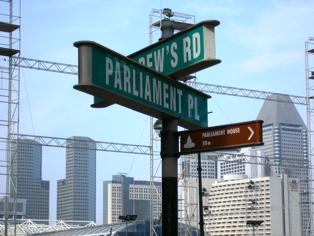 Street Signs, Singapore