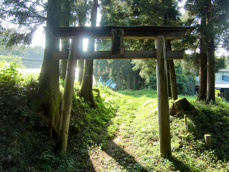 Torii Gate on the way to ARI farm shop