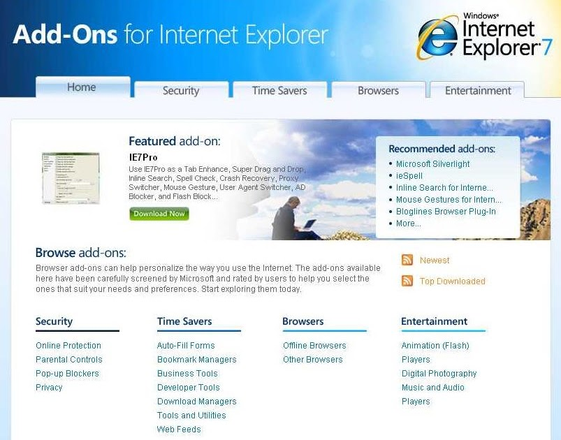 Where is internet explorer menu christiane-d us