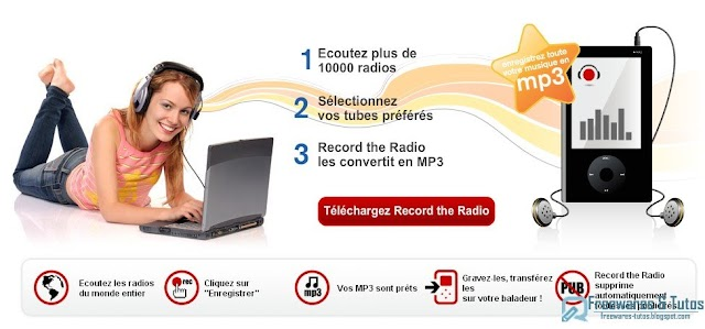 Record the Radio : écoutez et enregistrez la radio au format MP3