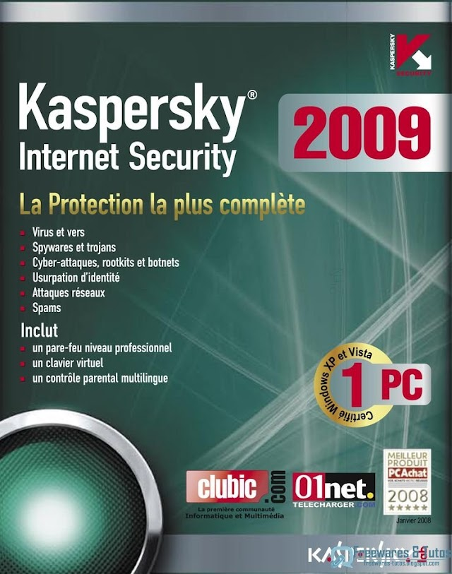 Offre promotionnelle : Kaspersky Internet Security 2009 à 4,99 € !