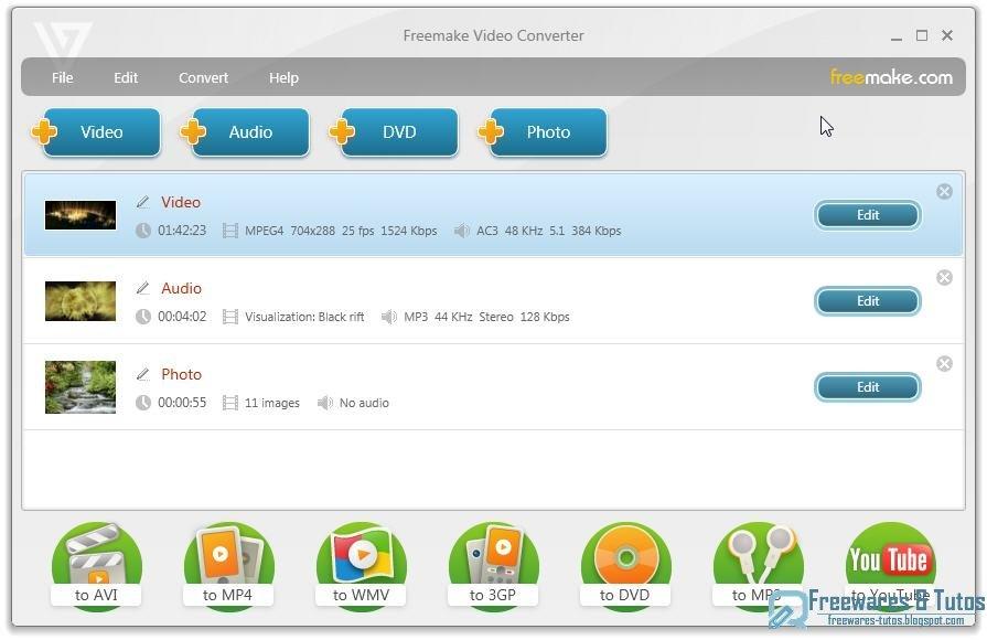 Ce logiciel peut non seulement convertir des fichiers TS en MP4 et AV, mais aussi convertit les vidéos TS en d'autres formats de vidéos comme : MOV, FLV, WMV, MTS, 3GP, VOB, WMA, MP3, FLAC, AAC, M4V, MKV et plus. En outre, FonePaw Convertisseur Vidéo est aussi un encodeur TS qui permet de convertir des formats de vidéo populaires en TS comme MP4 à TS, MOV à TS, AVI à TS, WMV à TS, etc.