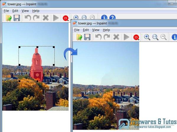 Offre promotionnelle inpaint 2 4 gratuit logiciel - Logiciel pour couper une photo gratuit ...