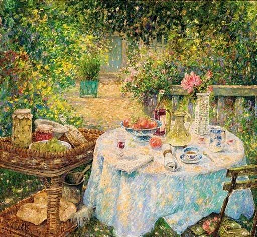 Garden Paintings By Jos Pauwels 1918 1976 Belgian Artist