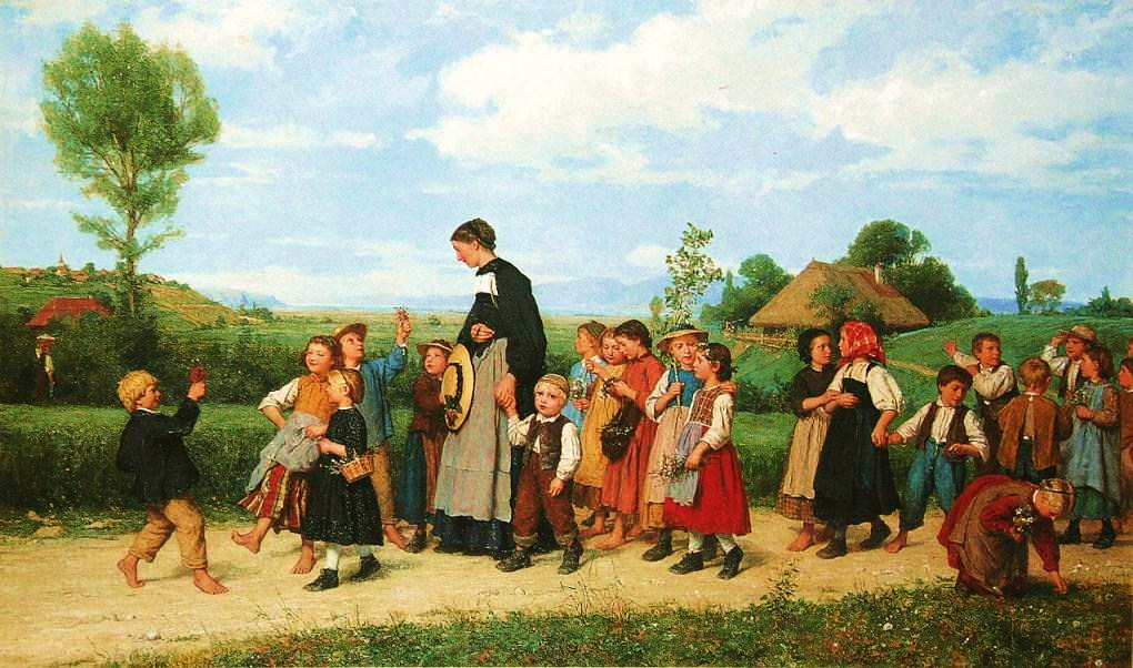 Swiss Genre Painter Albert Anker (1831-1910) ~ Blog of an Art Admirer