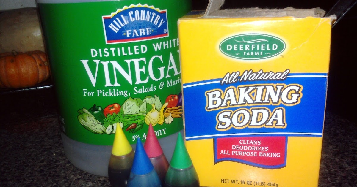 Mama Know Best Vinegar And Baking Soda Reaction Fun