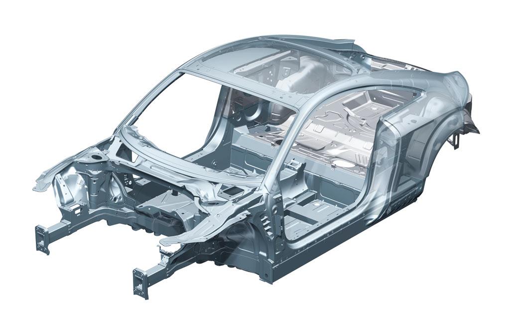 2006 2009 Audi Tt Body Structure Boron Extrication