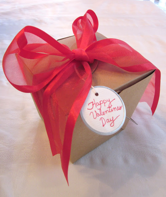 Valentine's Day fortune cookies, Valentine's Day gift, paper fortune cookies