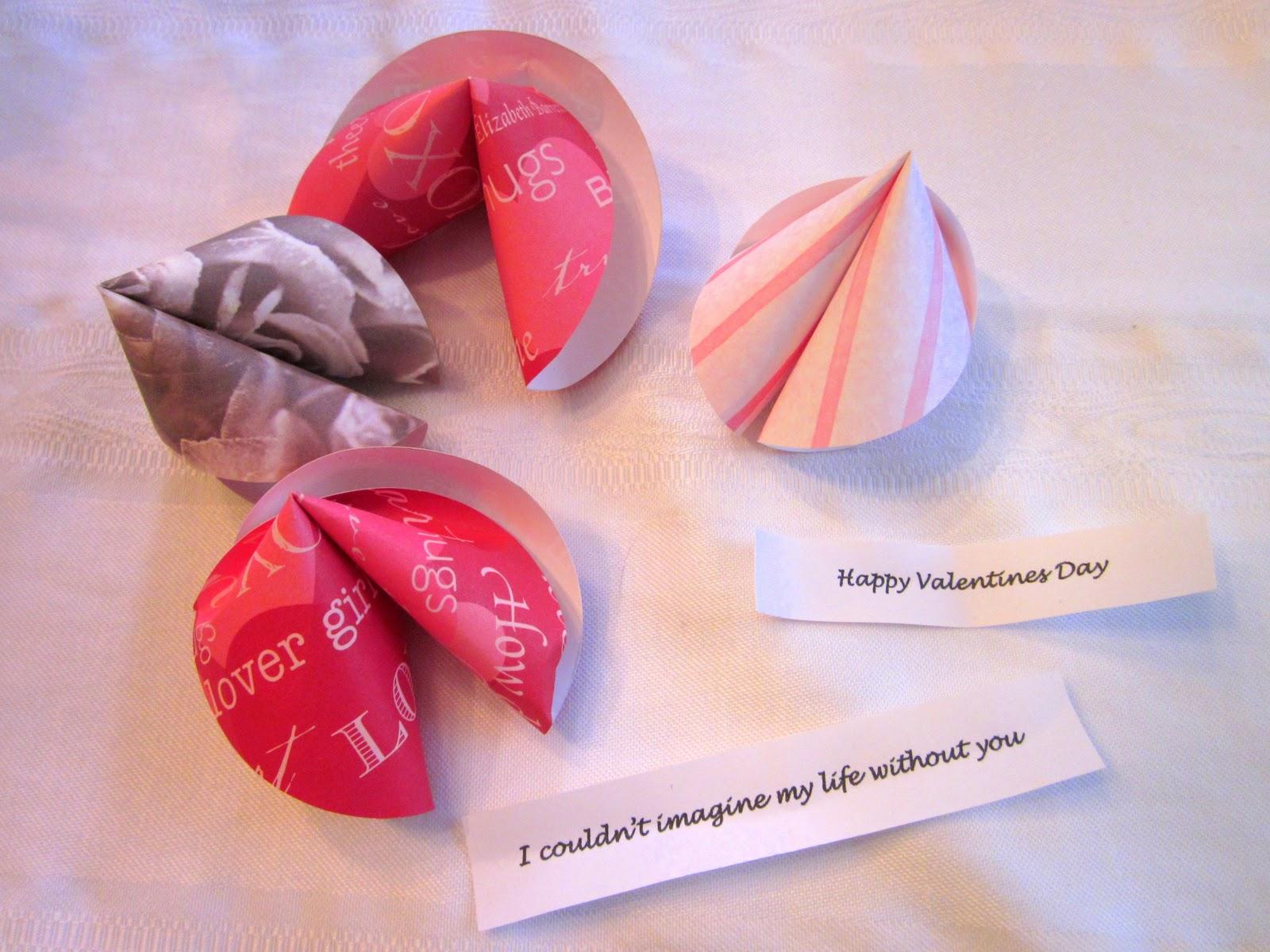 diy Design Fanatic: Fortune Cookie Valentines