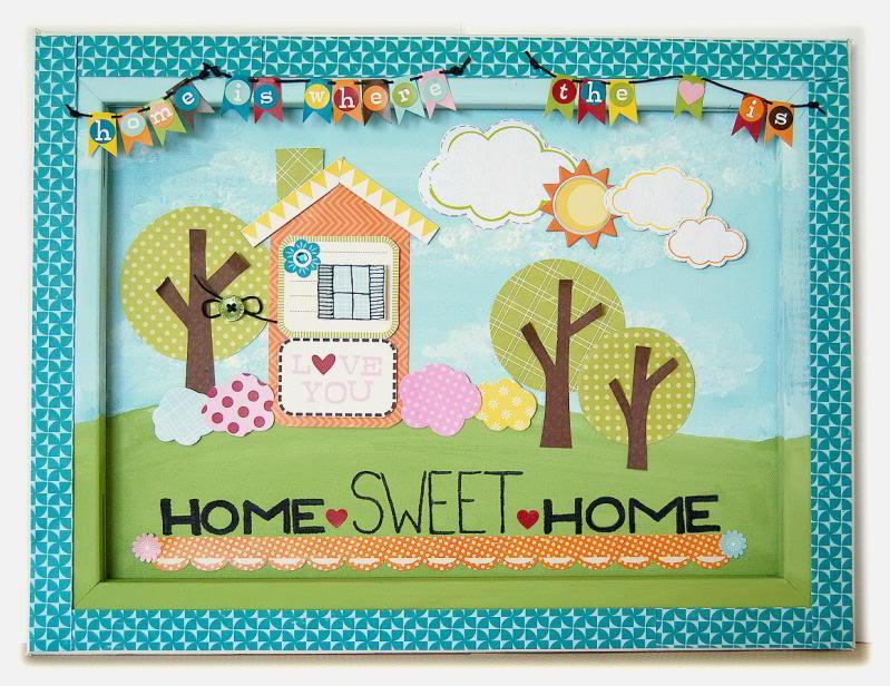 Glue Arts: Home Sweet Home
