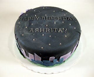 This Cake Was Made For Ashritaanother Chocolate With Peppermint Buttercream In Person The Very Sparklyyou Can See That A Little