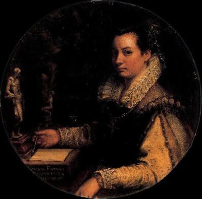 Autoportrait (1600), Lavinia Fontana