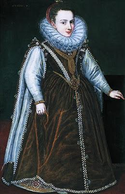 Sofonisba Anguissola, fille aînée du Duc et de la Duchesse de Parme (1580)