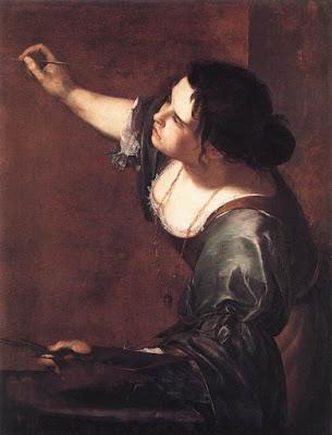 Artémisia Gentileschi, autoportrait, ou allégorie de la peinture (1630)