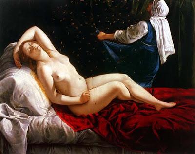 Artemisia Gentileschi, Danae (1612)