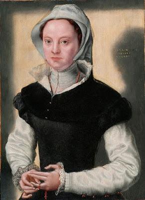 Caterina Van Hemessen, Portrait d'une dame