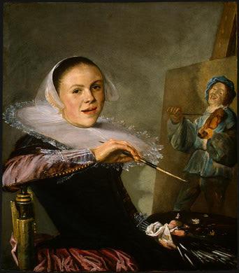 Judith Leyster, autoportrait