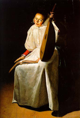 Judith Leyster, Jeune fille au luth (1631)