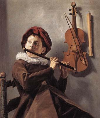 Judith Leyster, Jeune joueur de flûte