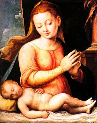 Madone à l'Enfant, Barbara Longhi