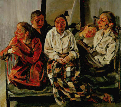 Family Group (1984-86), Celia Paul