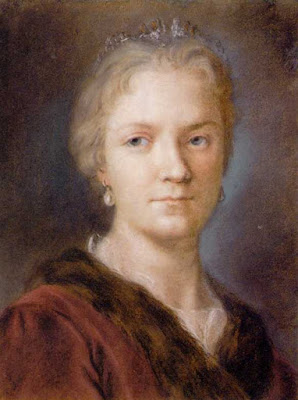 Autoportrait, Rosalba Carriera