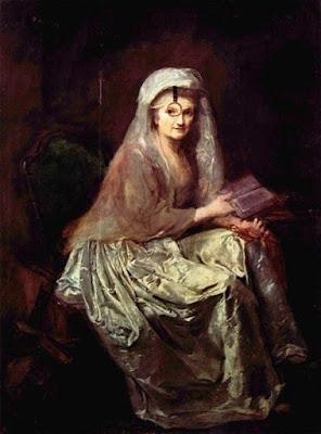 Autoportrait au monocle, Anna Dorothea Therbusch