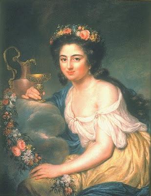 Portrait d'Henriette Julie Herz (1778), Anna Dorothea Therbusch