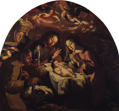 La nativité (1669), Josefa de Obidos