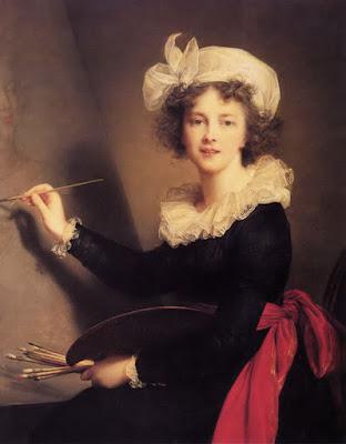 Autoportrait, Elisabeth Vigée-Lebrun