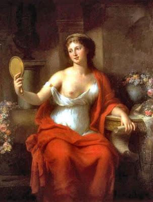 Autoportrait en Aspasia (1794), Marie-Geneviève Bouliard
